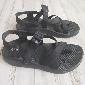 Chacos Black Womens Water Outdoor Sandals